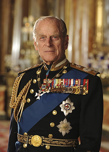 Hrh The Duke Of Edinburgh For Online Use Only